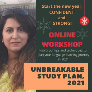 کلاس آنلاین برنامه ریزی برای زبان آموزی در سال 2021
